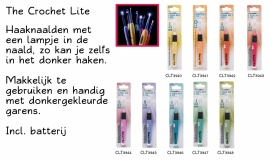 Crocht LIte   -  Haaknaald met lichtje (per stuk)