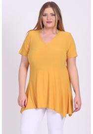 Tuniek Basic Belle (C-298) 076-Mellow Yellow