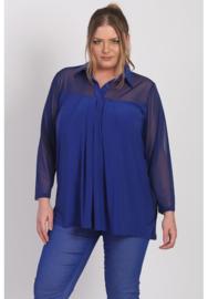 Shirt A-Lijn met Chiffon (B-8026-CHS) 060-Dr.Cobalt