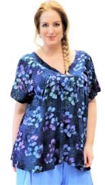 "Shirt ""JOSÉ"" (11-4618) bluepurpflwr"