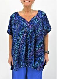 """Shirt """"JOSÉ"""" (07-4397) bluepurprnd"""