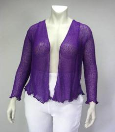 Ikat Vest (06-3604-purple)