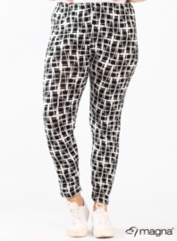 Legging Basic (F-0031-VISPR) - 389001-BW Painted Squares