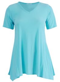 Tuniek Basic Belle (C-298) 051-Aqua Blauw