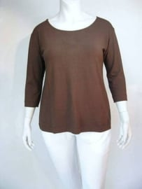 Shirt Elan Lycra (04-2826-brown)