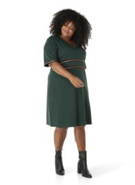 "(40187P) ""Qenna""  Dr.Groene zomerse jurk"