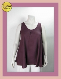 Top Cindy L (10-1672-aubergine)