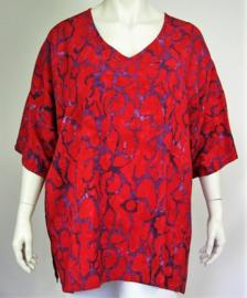"Shirt ""INCA"" (02-3890) redpurppr"