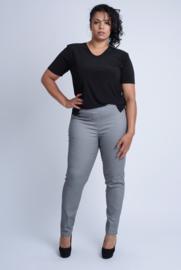 Broek Lang (D-7002-FJS) 037-Jeans Zwart