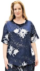 """Shirt """"JOYCE"""" (13-4635) dblueicecristal"""