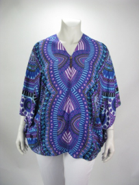 Blouse Happy (06-3633-blueisla)