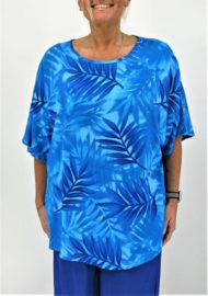 "Shirt ""JOYCE"" (07-4387) blueleaf"