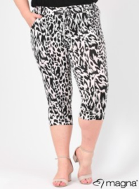 Capri (E-7001-print) B01001-Tiger Black-Grey