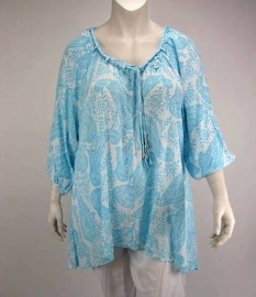 Blouse Dakota (05-2416 / blueretro)