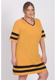 Tuniek/Jurk streep (C-9008-CRB) 076-Mellow Yellow