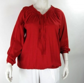 Blouse Delta (05-1973-MasaiRed)