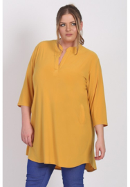 Tuniek 3/4 mouw (C-8011) 076-Mellow Yellow