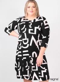 Balloon shaped tunic/dress (C-2026-VP) A80001-BW signs