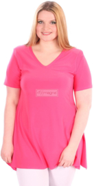 Tuniek Basic Belle (C-298) 006-Fuchsia