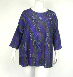 Shirt Gwen (02-3310-greypurpfly)