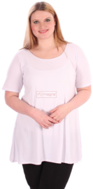 Tuniek Basic Belle (C-298) 002-Wit