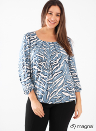 Shirt met Elastiek (B-8022-VISPR) 019804-Blue-Marine