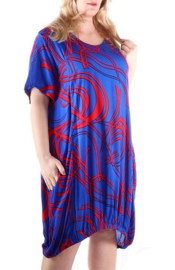 "Tuniek ""IDEAL"" (04-4283) blueredpr"