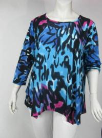 Shirt Gouda (06-3347-bluepinkanimal)