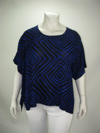 Shirt Havannah (04-3749-blueblackzigzag)