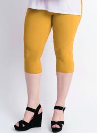 Legging 4 knopen (F-04) 076-Mango Geel