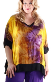 "Shirt ""Island"" (05-3875) purpyelsin"