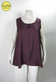 Top Cindy XXL (10-1657-aubergine)
