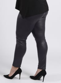 Legging Leather Look (F-20 LL) 020-Dr.Grijs