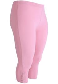 Legging 4 knopen (F-04) 075-Roze