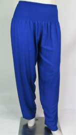 "Broek ""INDIA"" (07-4012) royalblueff"