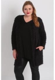 (N-5008) blazer-vest Fur