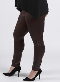Legging Leather Look (F-20 LL) 064-Bruin