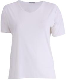 Shirt korte mouw (B-04) 018-Creme