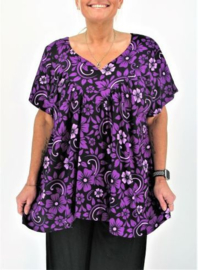 "Shirt ""JOSÉ"" (03-4393) purpflwr"