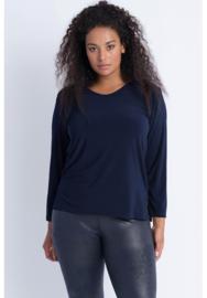Shirt Lange Mouw (B-03) 017-Marine