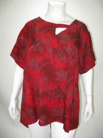 Shirt Heaven (05-3665-redbordkrnt)