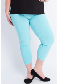 Legging Basic (F01) - 051-Aqua Blauw