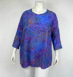 Shirt Gwen (04-3312-blueorblossom)