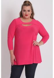 (B-8020) Shirt open neklijn