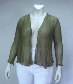 Ikat Vest (13-3611-armygreen)