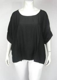 Shirt Gila (01-3474-Zwart)
