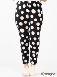 Legging Basic (F-0031-VISPR) - 490001-BW bolletjes