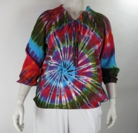 Blouse Delta (01-1969-Multicolor)