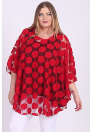 Poncho WINGS NET (M-04-NET) 015-Rood
