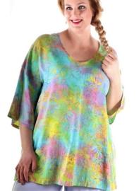 """Shirt """"INCA"""" (05-3893) turqyelpastel"""